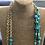 Thumbnail: שרשרת ארוכה אבני טורקיז