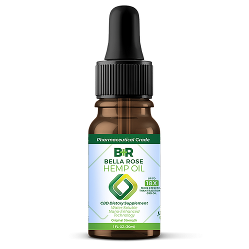 ORIGINAL STRENGTH (1fl oz) Nano-Enhanced CBD Hemp Oil