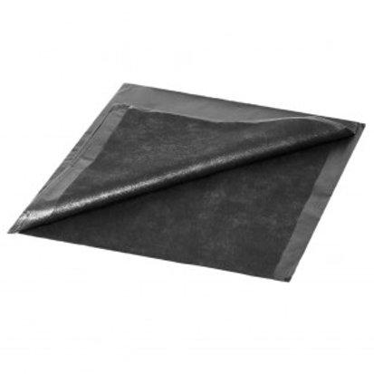 jet black drape sheets 36 x 50 50ct