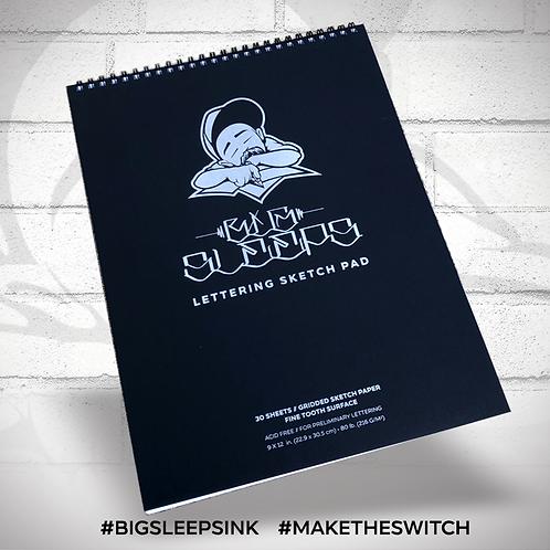 Big Sleeps Ink Sketch Pad