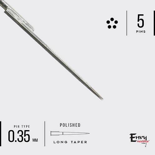 Envy 5 Round Needle Liner