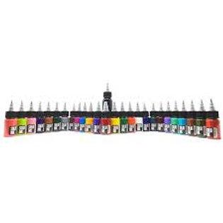 Solid Ink 25 color travel set 24 half ounce colors + 1oz black