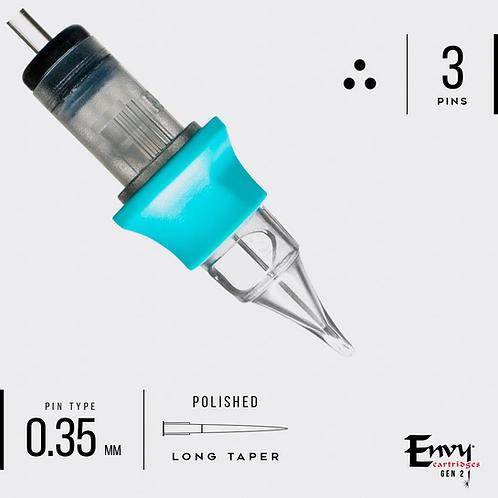 Gen 2 3 Round liner cartridges