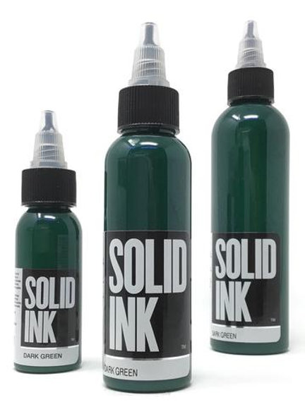 Solid Ink Dark Green 1oz