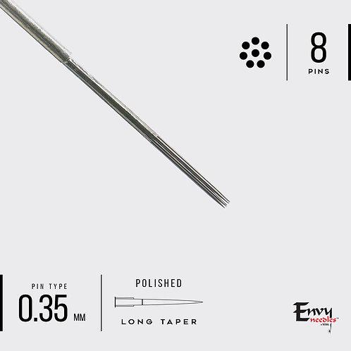 Envy 8 Round Shader Needle