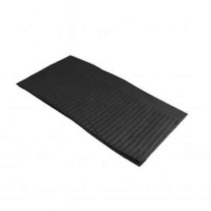jet black lap cloth/dental bib 13.5in x 18in 500ct