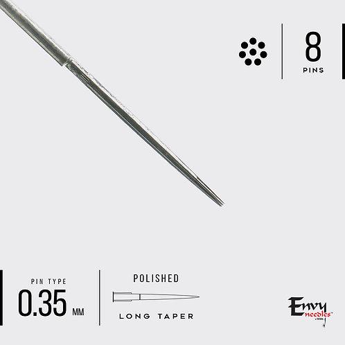 Envy 8 Round Liner Needle