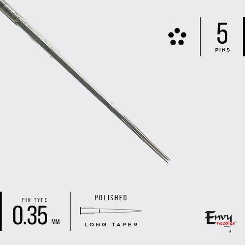 Envy 5 Round Shader Needle