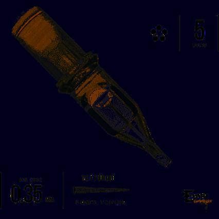 Textured Evny Cartridge 5 Round Liner
