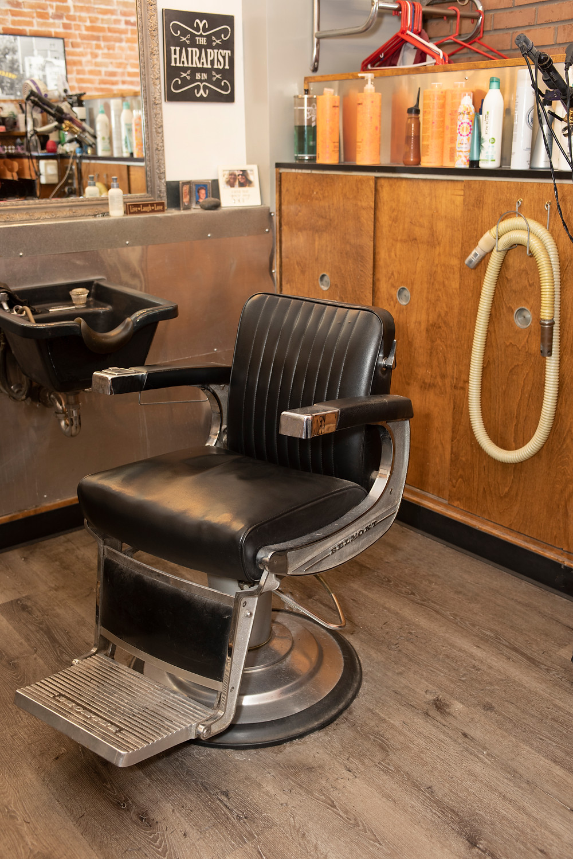 vintage salon chair