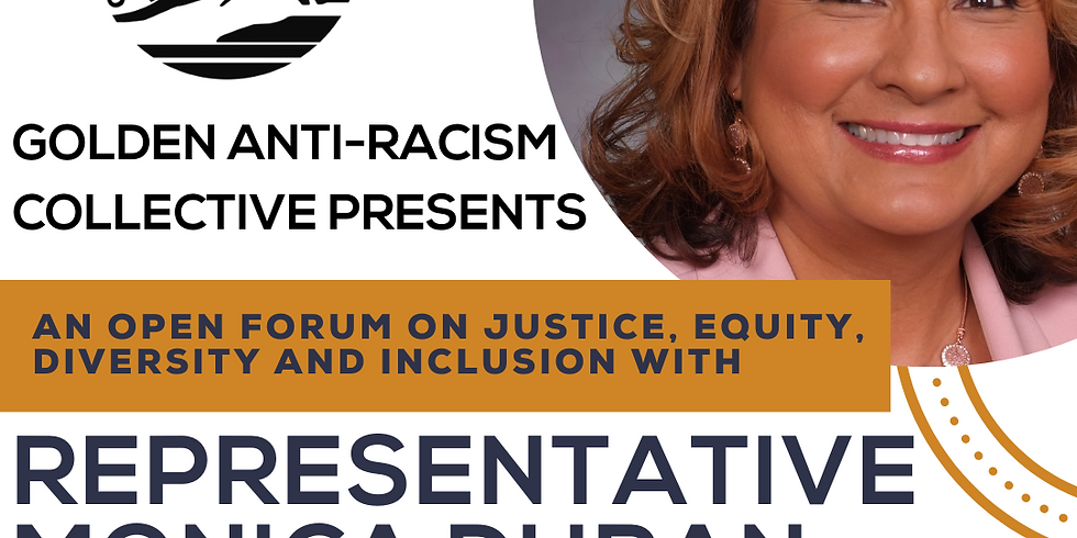 Open Forum with State House Rep Monica Duran