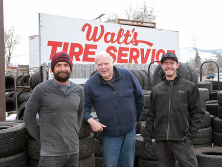 Golden Business Spotlight: Walt's Tire Service
