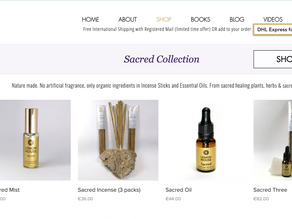 Sacred Oil, Mist & Incense