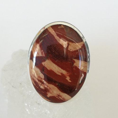 Mookaite Jasper Ring