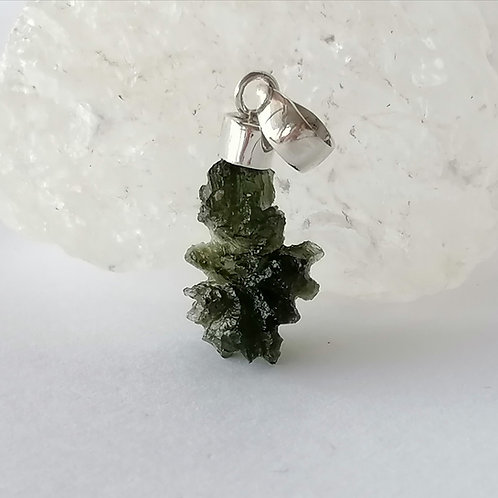 "Moldavite - ""Into the Deep Green"""