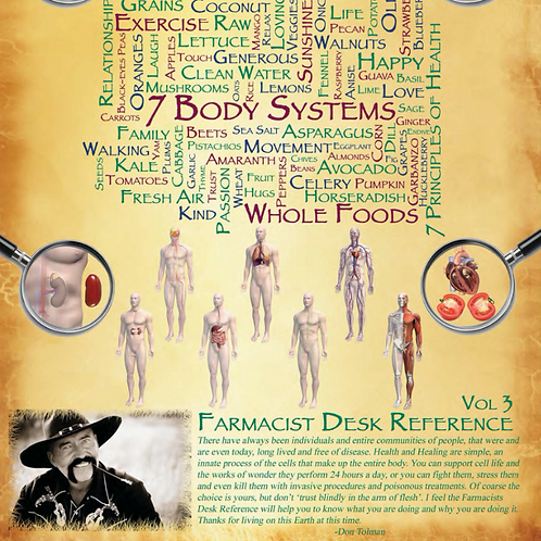 Farmacist Desk Reference Vol 3 E-Book by Don Tolman