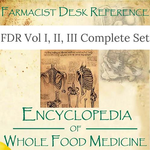 Farmacist Desk Reference, Complete Set - Vol 1, 2 & 3 E-Books by Don Tolman