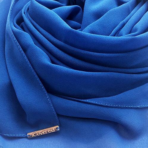 Georgete Azul Cian