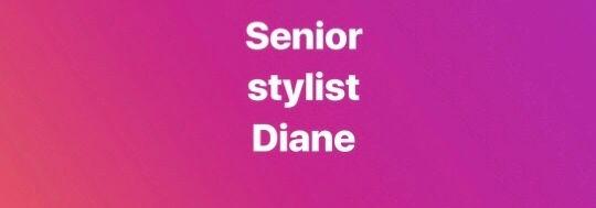 Diane haircut & blowdry