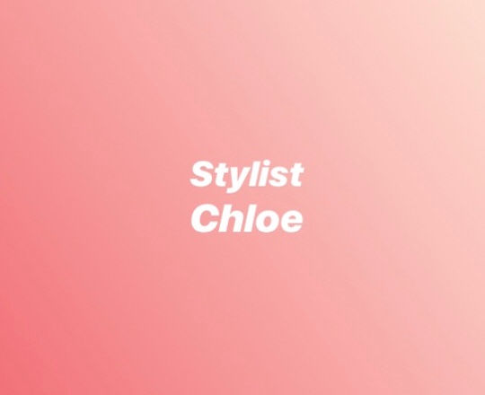 blowdry long hair- chloe