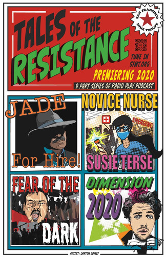 POSTER Tales of the Resistance 4 episode