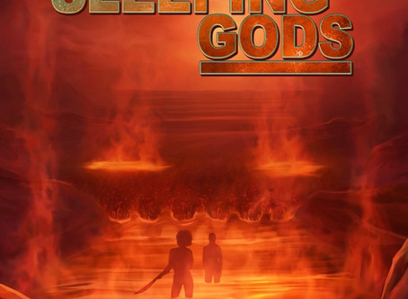 COVER REVEAL - Isle of the Sleeping Gods
