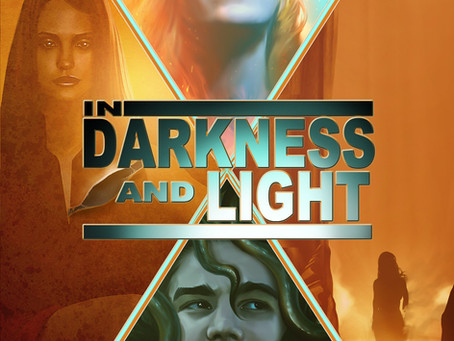 In Darkness & Light COVER REVEAL
