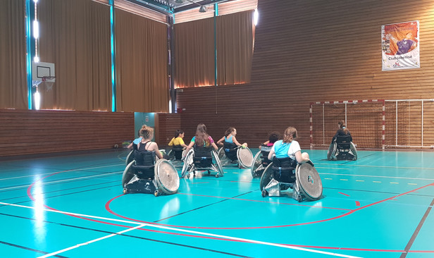 Journée Handicap au collège de Châtel-Guyon