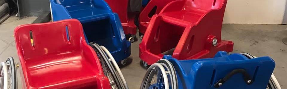 De nouveaux fauteuils adaptés aux enfants