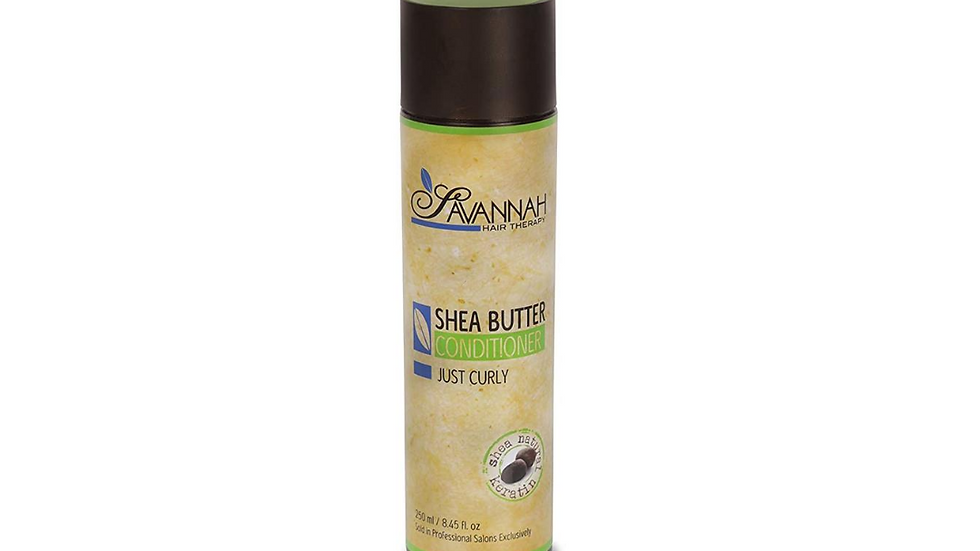 Hair Conditioner - Just Curly Collection Treatment - Shea Butter, Cotton