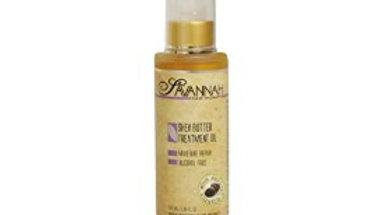 Savannah Hair Therapy Shea Butter Treatment Oil 3.38 oz (100ml) a Natural Source