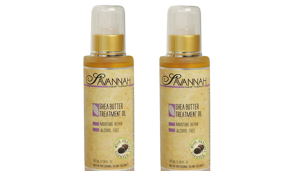 Oil 3.38 oz (100ml) a natural source of keratin that coats the hair and imparts