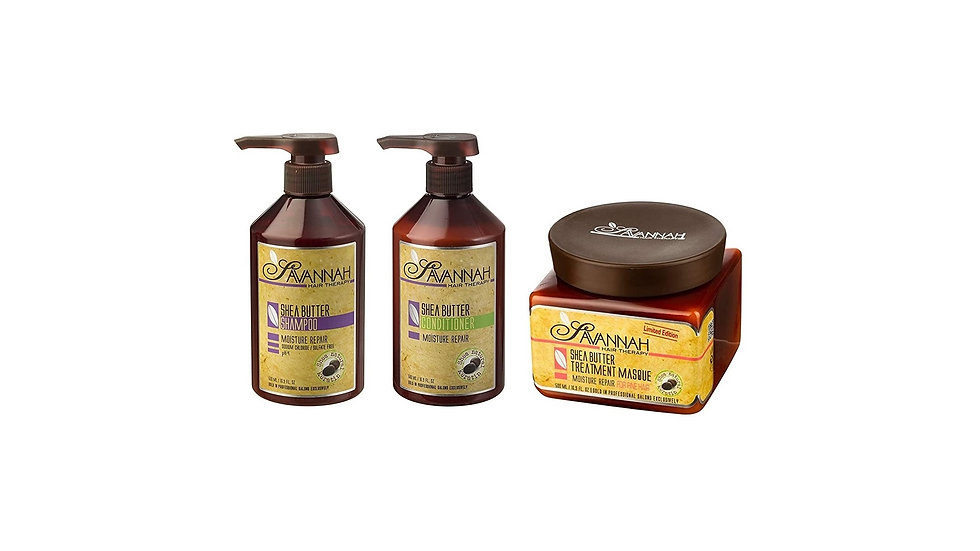 Hair Mask, Deep Conditioner,+ Shea Butter Shampoo and Hair Conditioner Set