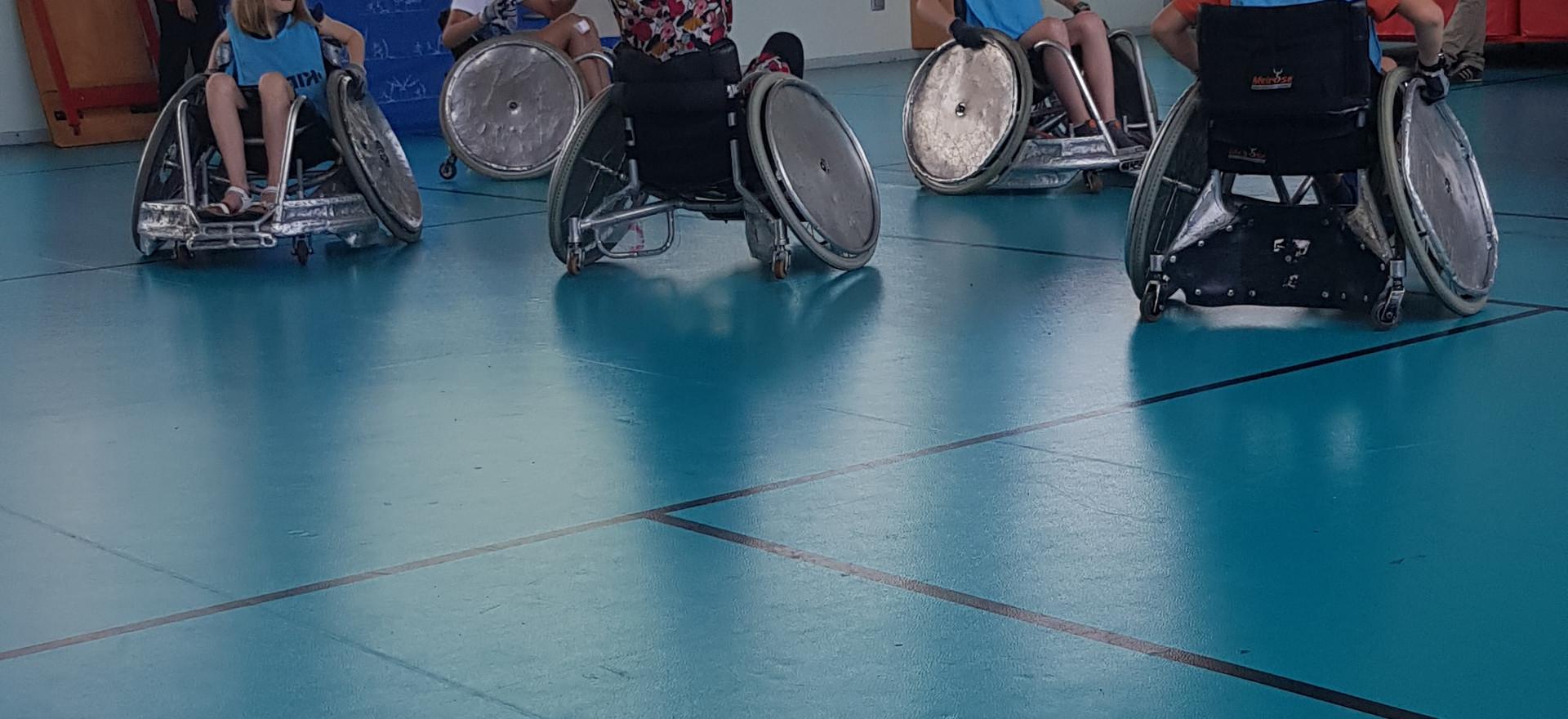 Journée Handicap au collège Jeanne d'Arc