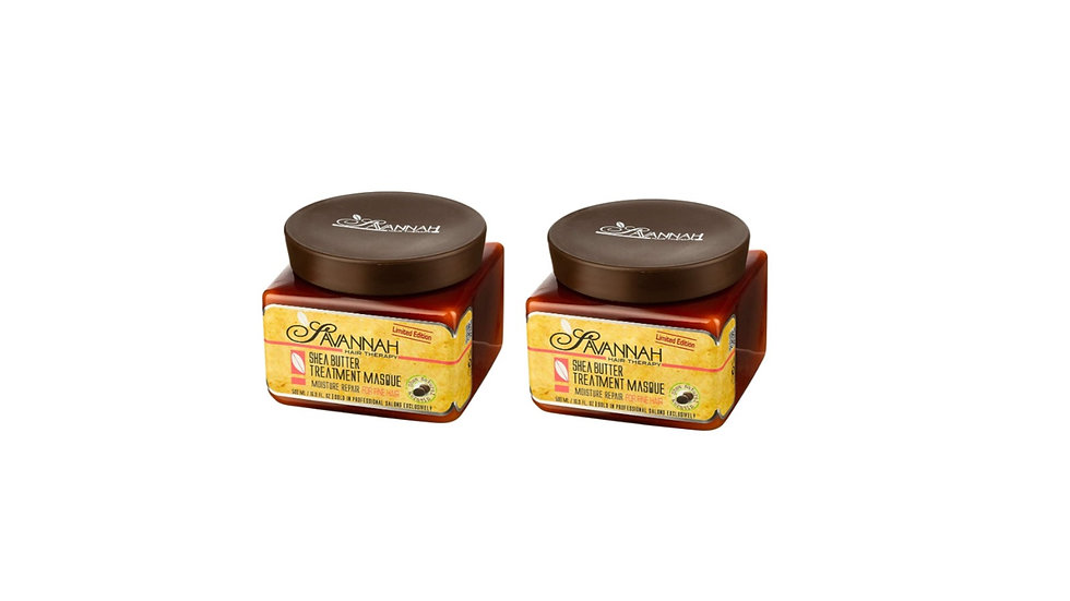 Hair Mask or Dry Damaged Hair, Fine and Colored Hair - 500 ml Pack of 2