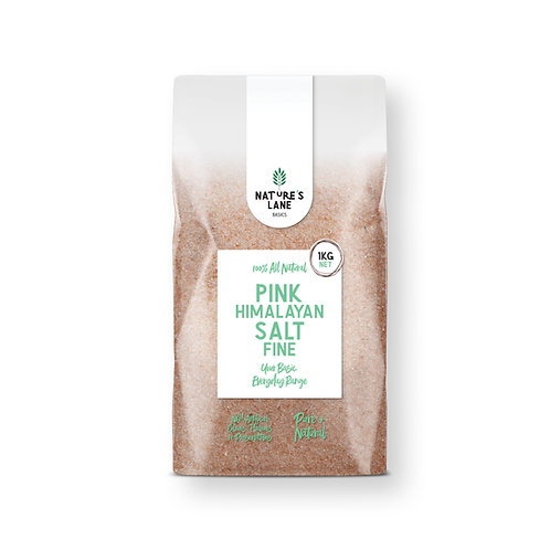 PINK HIMALAYAN SALT FINE 1kg