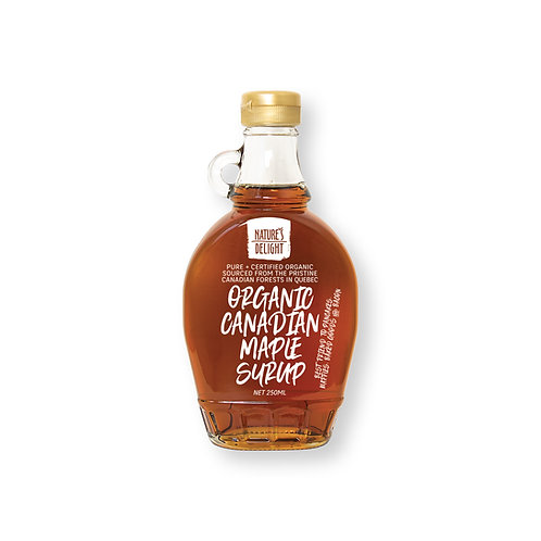 ORGANIC CANADIAN MAPLE SYRUP 250ml