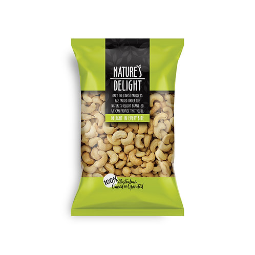 CASHEWS ROASTED AND SALTED 400g
