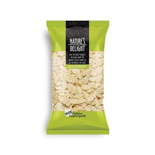 AUSTRALIAN ALMOND FLAKES BLANCHED 375g