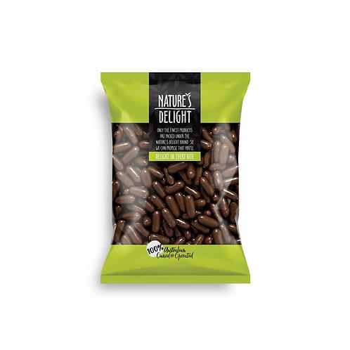 MILK CHOCOLATE RASPBERRY BULLETS 300g