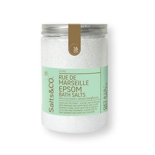 SaltsAndCo RUE DE MARSEILLE EPSOM BATH SALTS 900g
