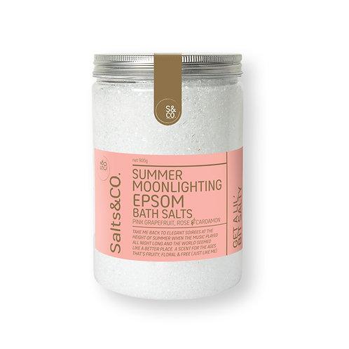 SaltsAndCo SUMMER MOONLIGHTING EPSOM BATH SALTS 900g