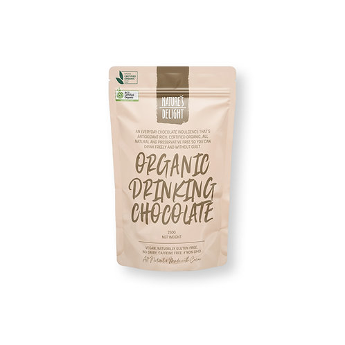 ORGANIC DRINKING CHOCOLATE 250g