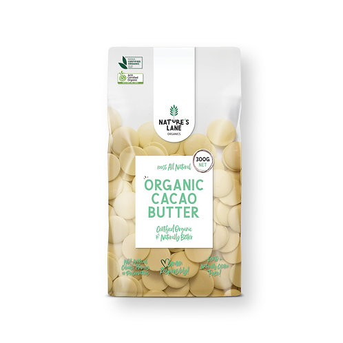 ORGANIC CACAO BUTTER 300g
