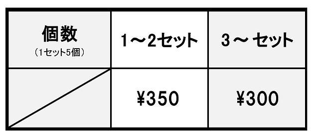 アクリル30×30以下カットセット値段表.jpg
