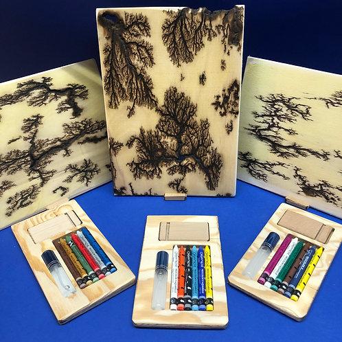 Kit complet - couleurs et tableau A4 de notre inspiration