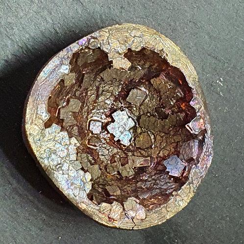 Géode de bismuth  Ø env. 4.5 cm - 103 g