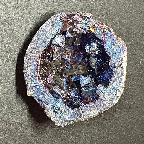 Géode de bismuth  Ø env. 4 cm - 57 g