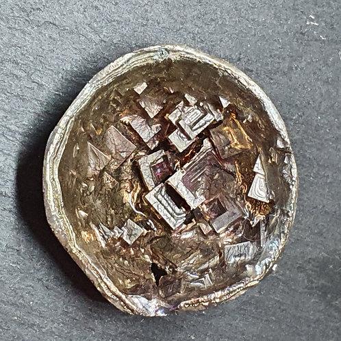 Géode de bismuth  Ø env. 4 cm - 38 g