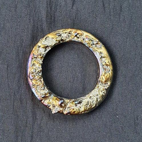 Pendentif en bismuth  Ø env. 3.5 cm